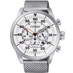 Buy Men's Citizen Watch Aviator Chrono Eco-Drive CA4210-59A