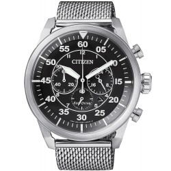 Buy Men's Citizen Watch Aviator Chrono Eco-Drive CA4210-59E