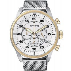 Buy Men's Citizen Watch Aviator Chrono Eco-Drive CA4214-58A