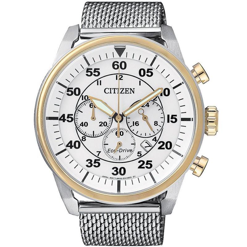 Reloj Hombre Citizen Crono Aviator Eco Drive Ca4214 58a Crivelli Shopping
