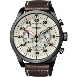 Buy Men's Citizen Watch Aviator Chrono Eco-Drive CA4215-04W