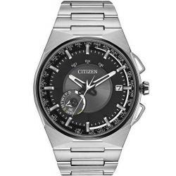 Buy Men's Citizen Watch Satellite Wave Air F100 Eco-Drive Titanium CC2006-53E