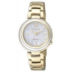 Buy Women's Citizen Watch Eco-Drive EM0336-59D Mother of Pearl