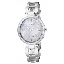 Buy Women's Citizen Watch Eco-Drive EM0420-89D Mother of Pearl