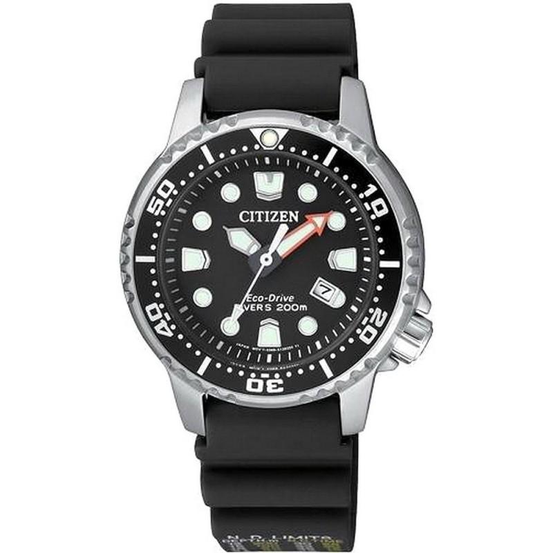 Women's Citizen Watch Promaster Marine Diver's Eco Drive 200M EP6050 17E Crivelli Shopping