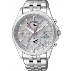 Women's Citizen Watch Radio Controlled Eco-Drive FC0010-55D Mother of Pearl
