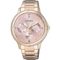 Women's Citizen Watch Eco-Drive FD2033-52W Multifunction