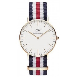 Buy Unisex Daniel Wellington Watch Classic Canterbury 36MM DW00100030