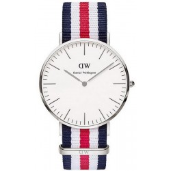 Buy Unisex Daniel Wellington Watch Classic Canterbury 36MM DW00100051