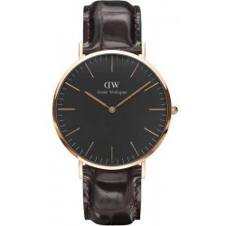 Buy Men's Daniel Wellington Watch Classic Black York 40MM DW00100128