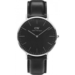 Buy Men's Daniel Wellington Watch Classic Black Sheffield 40MM DW00100133