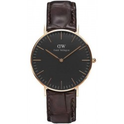 Buy Unisex Daniel Wellington Watch Classic Black York 36MM DW00100140