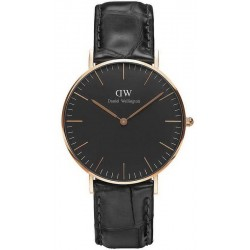 Buy Unisex Daniel Wellington Watch Classic Black Reading 36MM DW00100141
