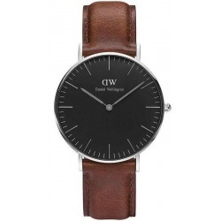 Buy Unisex Daniel Wellington Watch Classic Black St Mawes 36MM DW00100142