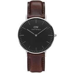 Buy Unisex Daniel Wellington Watch Classic Black Bristol 36MM DW00100143
