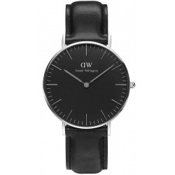 Buy Unisex Daniel Wellington Watch Classic Black Sheffield 36MM DW00100145