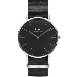 Buy Men's Daniel Wellington Watch Classic Black Cornwall 40MM DW00100149
