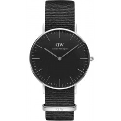 Buy Unisex Daniel Wellington Watch Classic Black Cornwall 36MM DW00100151