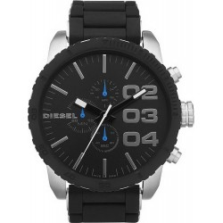 Buy Men's Diesel Watch Double Down 51 DZ4255 Chronograph