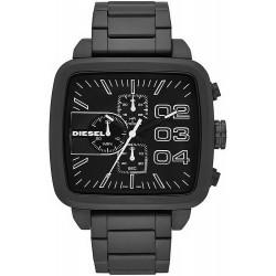 Buy Men's Diesel Watch Double Down Square DZ4300 Chronograph