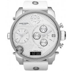 Men's Diesel Watch Mr. Daddy DZ7194 Chronograph 4 Time Zones
