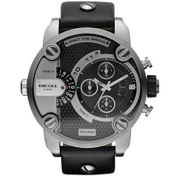Buy Men's Diesel Watch Little Daddy DZ7256 Dual Time Chronograph