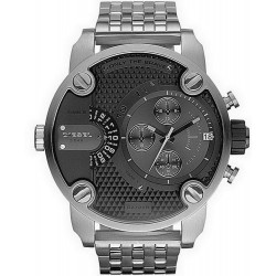 Buy Men's Diesel Watch Little Daddy DZ7259 Dual Time Chronograph