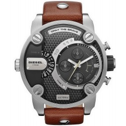 Buy Men's Diesel Watch Little Daddy DZ7264 Dual Time Chronograph