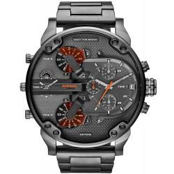 Men's Diesel Watch Mr. Daddy 2.0 DZ7315 Chronograph 4 Time Zones