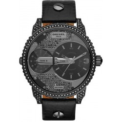 Buy Unisex Diesel Watch Mini Daddy DZ7328 Dual Time