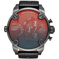 Buy Men's Diesel Watch Little Daddy DZ7334 Dual Time Chronograph
