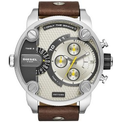 Buy Men's Diesel Watch Little Daddy DZ7335 Chronograph Dual Time