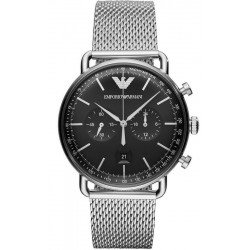 Buy Men's Emporio Armani Watch Aviator AR11104 Chronograph