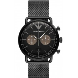 Buy Men's Emporio Armani Watch Aviator AR11142 Chronograph