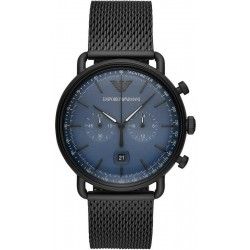 Buy Men's Emporio Armani Watch Aviator AR11201 Chronograph