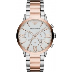Buy Men's Emporio Armani Watch Giovanni AR11209 Chronograph