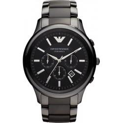 Buy Men's Emporio Armani Watch Ceramica AR1451 Chronograph