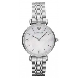 Buy Women's Emporio Armani Watch Gianni T-Bar AR1682 Mother of Pearl