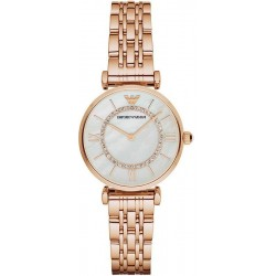 Buy Women's Emporio Armani Watch Gianni T-Bar AR1909 Mother of Pearl