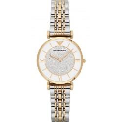 Buy Women's Emporio Armani Watch Gianni T-Bar AR2076