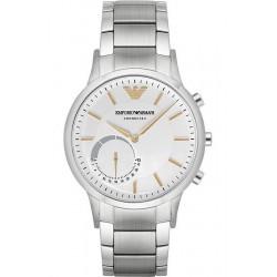 Buy Men's Emporio Armani Connected Watch Renato ART3005 Hybrid Smartwatch