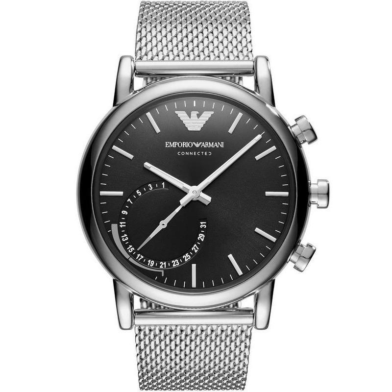 emporio armani connected hybrid smartwatch