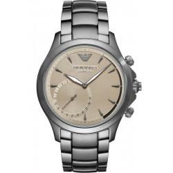 Buy Men's Emporio Armani Connected Watch Alberto ART3017 Hybrid Smartwatch
