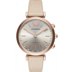 Buy Women's Emporio Armani Connected Watch Gianni T-Bar ART3020 Hybrid Smartwatch