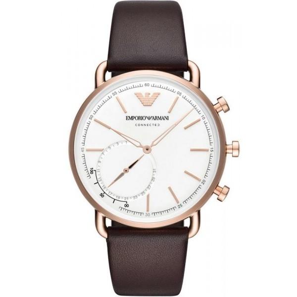 Buy Men's Emporio Armani Connected Watch Aviator ART3029 Hybrid Smartwatch
