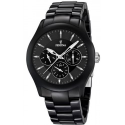 Buy Men's Festina Watch Ceramic F16639/2 Multifunction Quartz