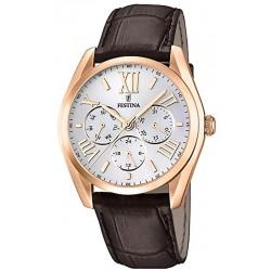 Men's Festina Watch Elegance F16754/1 Quartz Multifunction