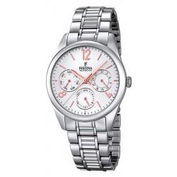 Buy Women's Festina Watch Boyfriend F16869/1 Quartz Multifunction