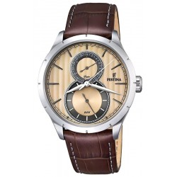 Men's Festina Watch Retro F16892/4 Quartz