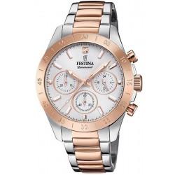 Buy Women's Festina Watch Boyfriend F20398/1 Quartz Chronograph